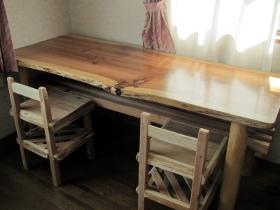 学習机と椅子の納品後