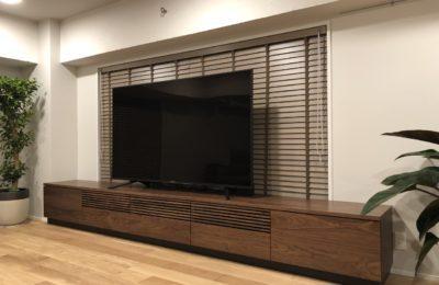 テレビボード 世田谷区I邸