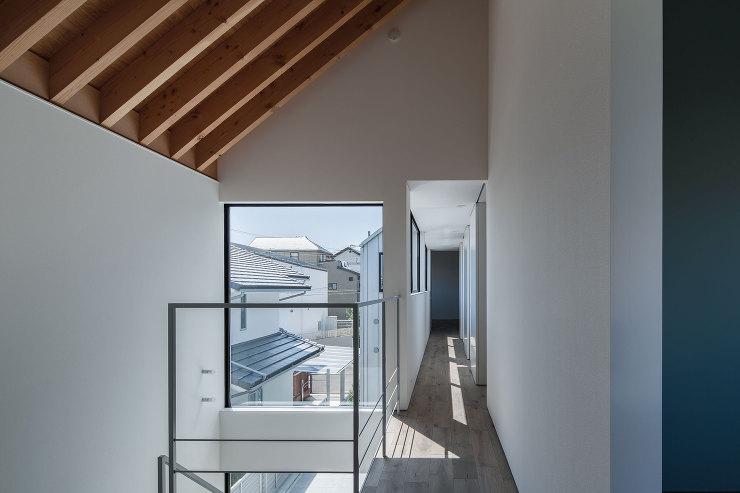吹抜空間|千里山西の家|北摂のデザイン住宅 設計|建築家 奥和田健