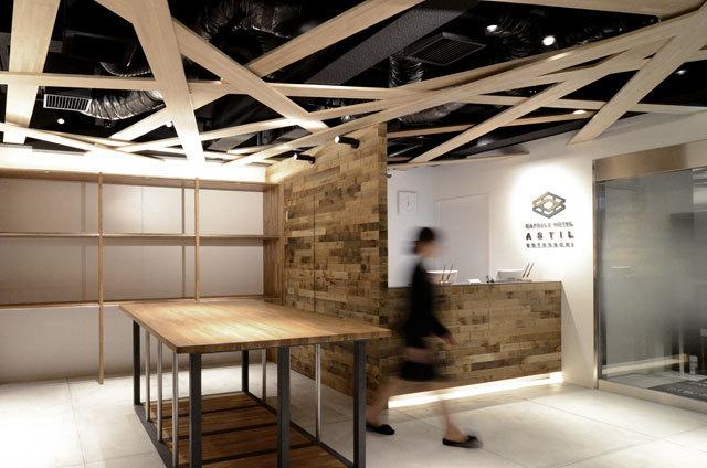 大阪のカプセルホテルのデザイン例01