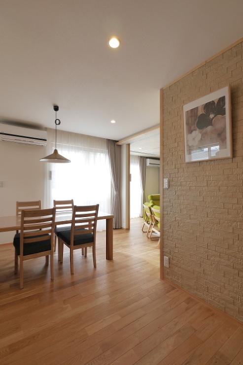 京田辺池田デザイン室 「回遊性のある家」N邸戸建リノベーション