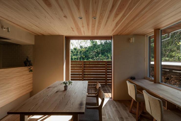 木津川の家