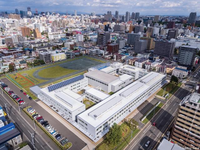 北海道札幌視覚支援学校 Hokkaido...