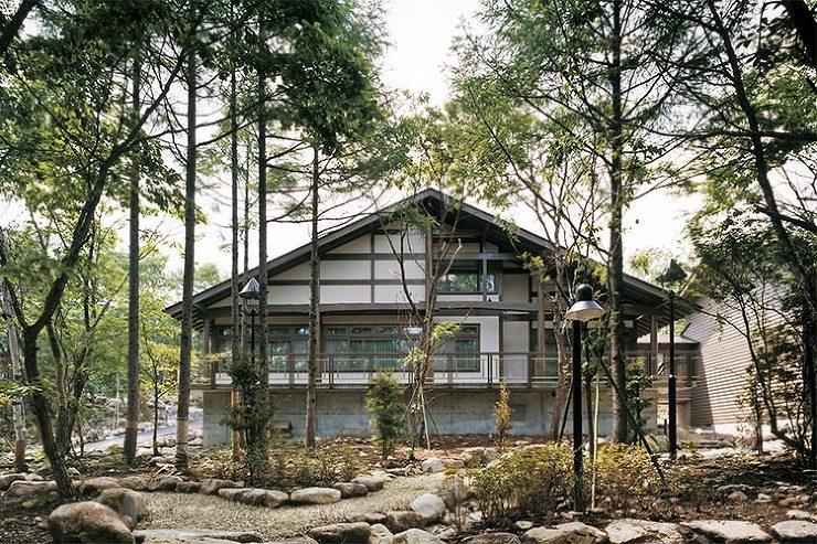 清里山荘 外観