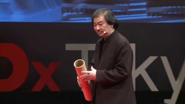 社会の役に立たない建築家: 坂 茂 at TEDxTokyo