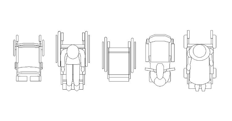 Vol.4 車椅子CADデータ | CADデータフリーダウンロード |...