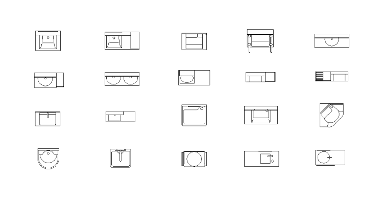 Vol.18 洗面台CADデータ | CADデータフリーダウンロード ...