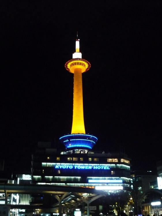 京都タワー | 日本建築めぐり | 建築パース.com