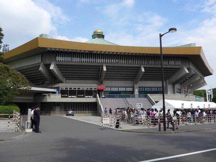 日本武道館 | 日本建築めぐり | 建築パース.com