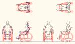人物モデル化 単独車椅子用 JWW | CAD-DATA.com