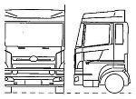 日野 プロフィア ウイング トラック | CAD-DATA.com