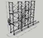 枠組足場階段枠W900(簡易版)   CAD-DATA.com