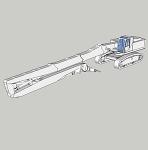 解体専用機コベルコSK550 | CAD-DATA.com