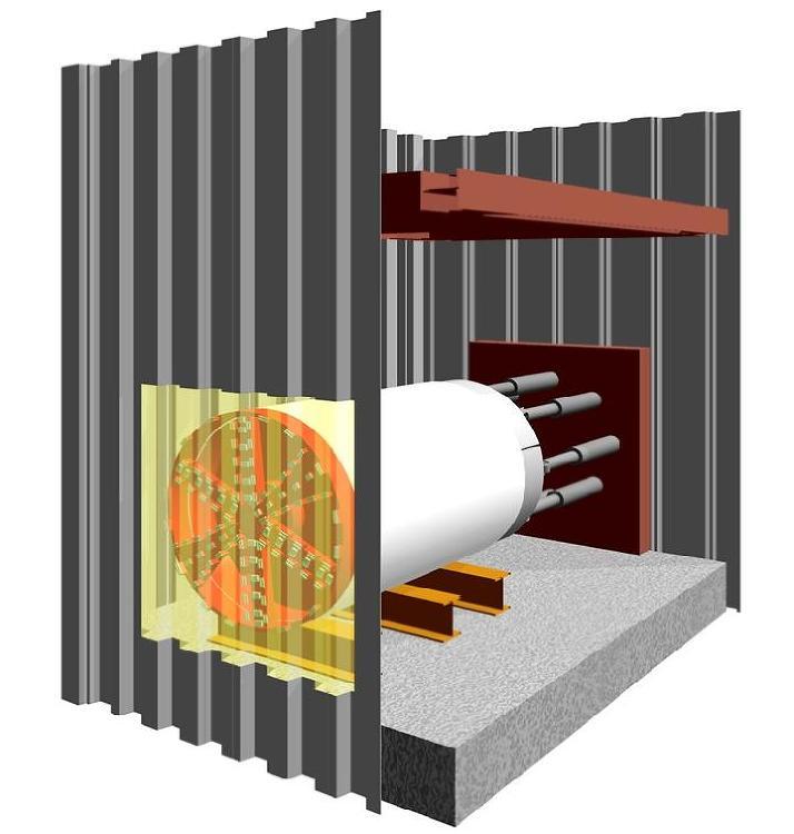 切削できるFRP製矢板をたて坑に   日経クロステック(xTECH)