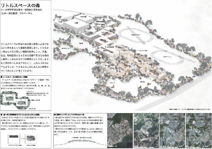 最優秀は乾久美子氏、震災復興の七ヶ浜中学校プロポ | 日経 xTECH...