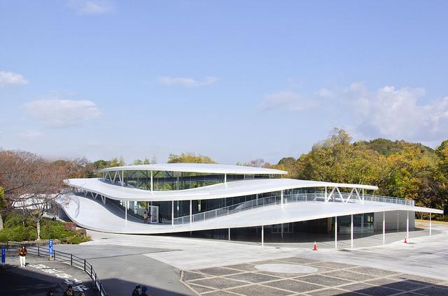 大阪芸術大学 アートサイエンス学科棟 写真一覧/妹島和世