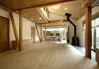 薪ストーブのある家_木造2階建て