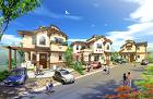 戸建住宅の街並み