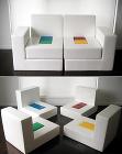 BLOCKS(分けると座椅子になるソファ)