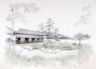 手描き:萩博物館
