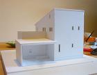 茨城県/牛久の家/模型/H23年4月竣工予定
