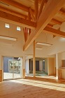 勾配天井の大空間