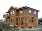 長野県安曇野市:高性能な2×8の家
