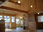 長野県塩尻市:信州産カラマツ材の家