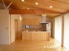 住宅作品:自然素材を基調にした住宅