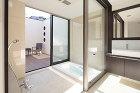 リゾート感溢れる浴室