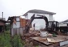 住宅の解体