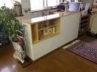 ボックス収納棚を再利用したリメイク家具