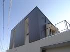住宅作品:片流れの家の外観
