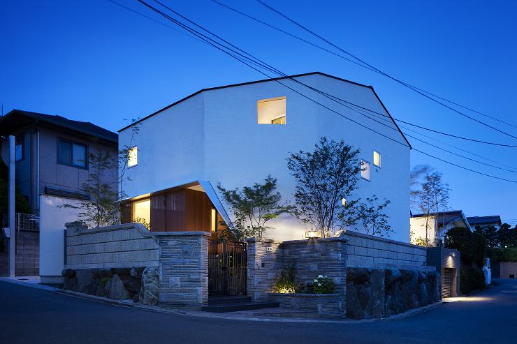 「吹田の家」の外観