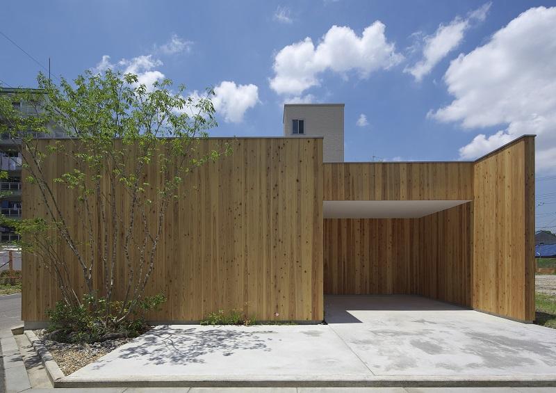 住宅:西三国の家 外観