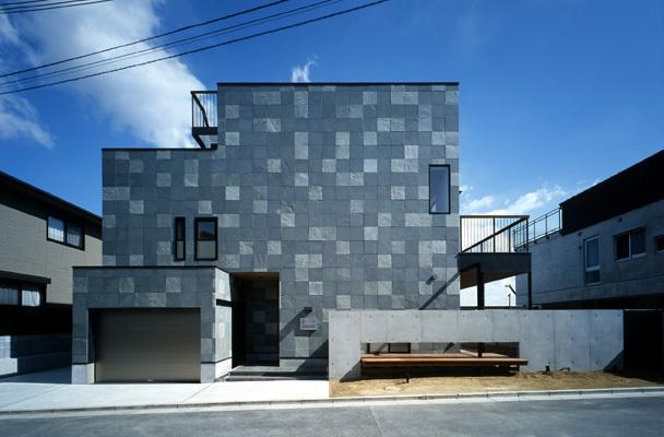 住宅作品;吹田の家の外観