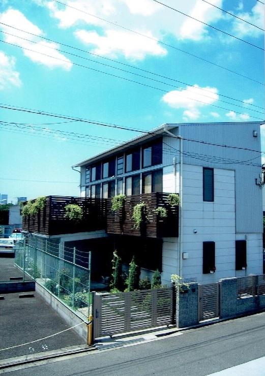 自然素材の大空間のある住宅
