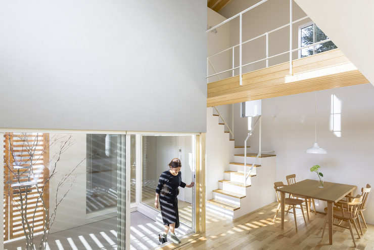 「余白のある家」内観写真1
