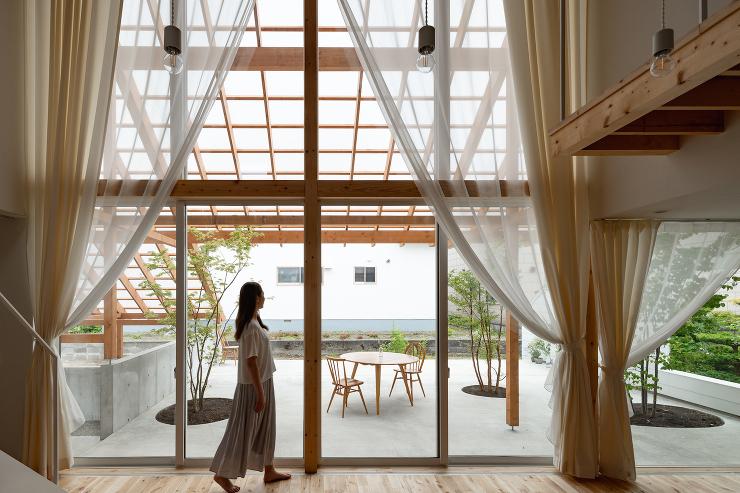 「雁木の家」内観写真