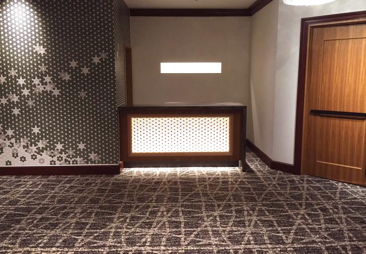 佐賀市のホテルのリノベーション