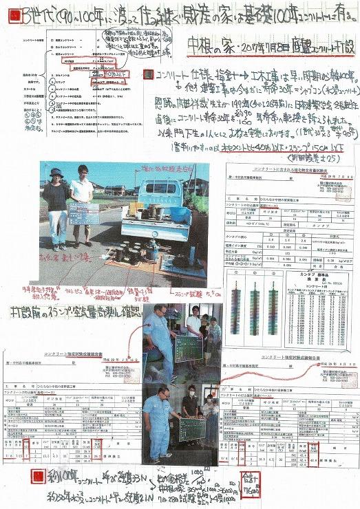No.2 中根の家・100年コンクリート打設