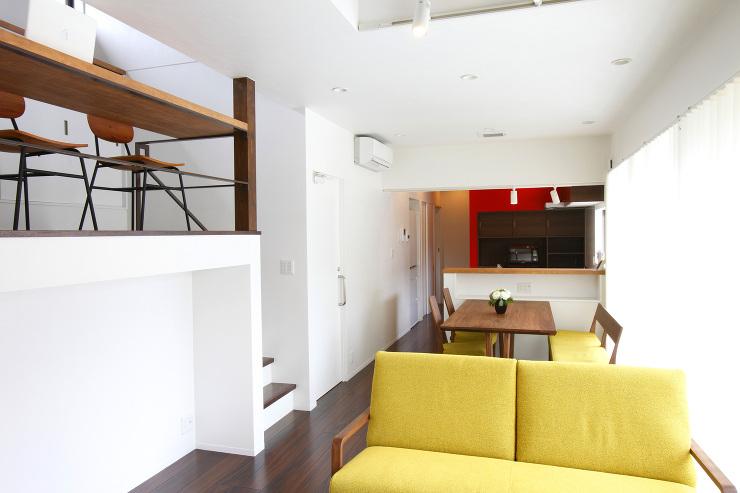 4色の家-LDK&スキップフロア