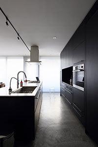 住宅作品:YResidenceのキッチン