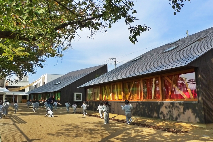 木の実幼稚園 木造棟