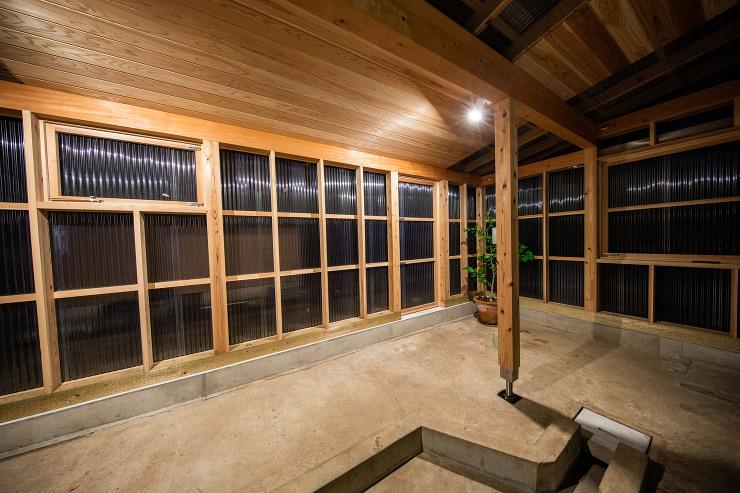 土浦のキッチン サンルーム