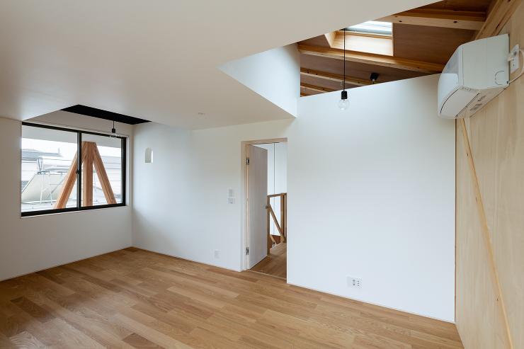 住宅:斜材の家(いわき市)